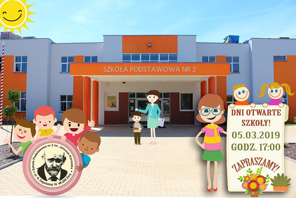 Dni Otwarte Szkoły Zapraszamy Szkoła Podstawowa Nr 2 W żarach
