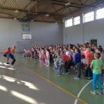 Pokaz tańca dla klas I-IV