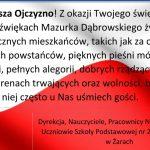102. Rocznica Odzyskania Niepodległości przezPolskę